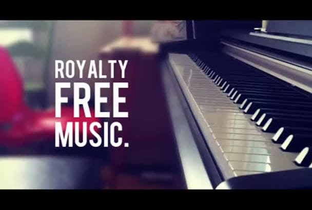 give you 20 royalty free instrumental beats for YOUTUBE videos music tracks