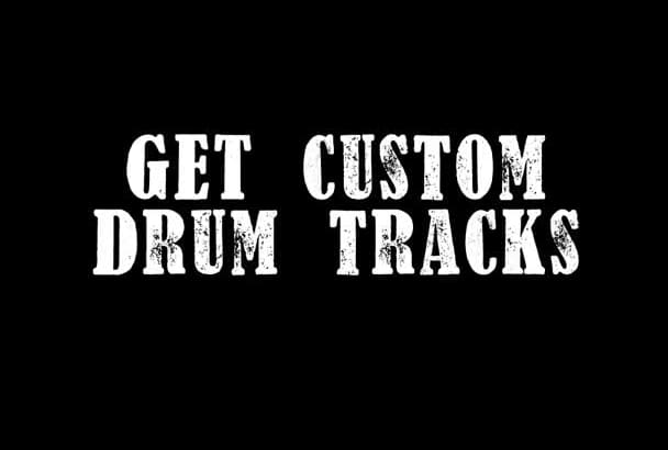 record drum tracks for your song on edrums