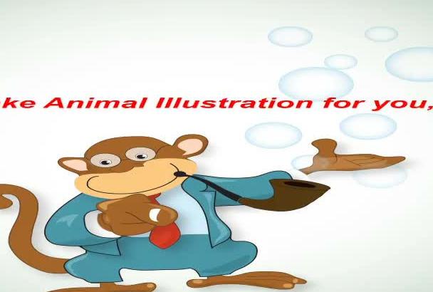 make original animal ILLUSTRATION