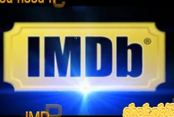 increase IMDB Starmeter or Moviemeter of Imdb Profile by providing 5,000 Hits