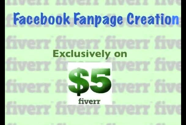create a custom facebook  business fanpage contact me first