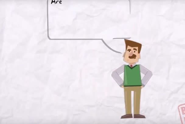 create a fun Cartoon Animated Explainer Video