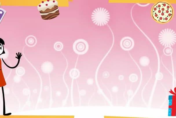 Create a birthday party invitation video by jv27648 create a birthday party invitation video stopboris Gallery