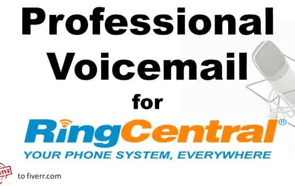 Create an american professional female voicemail for ring central by create an american professional female voicemail for ring central m4hsunfo