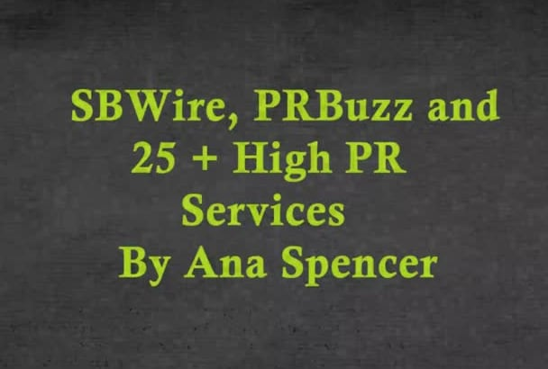 submit your Press Release to SBWire PRBuzz and 25 Syndication