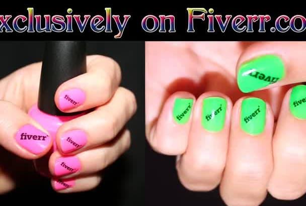make you a set of custom nail decals