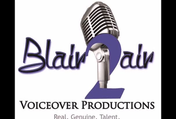 provide you with  a QUALITY voiceover