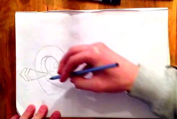 write GRAFFITI art for you