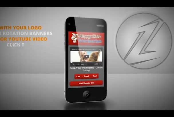 design a PROFESSIONAL Mobile Website