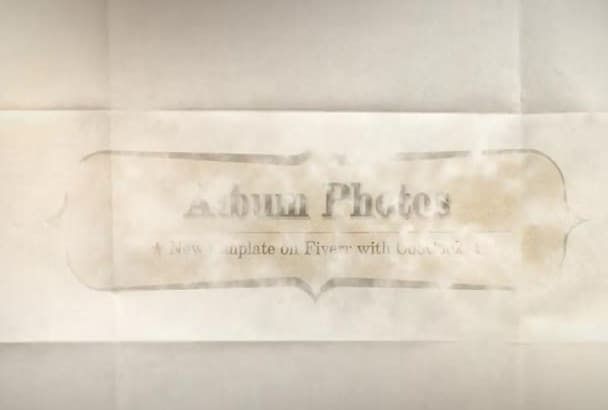 create an amazing photo album video