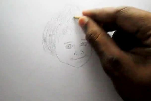 speed draw your FACE or logo