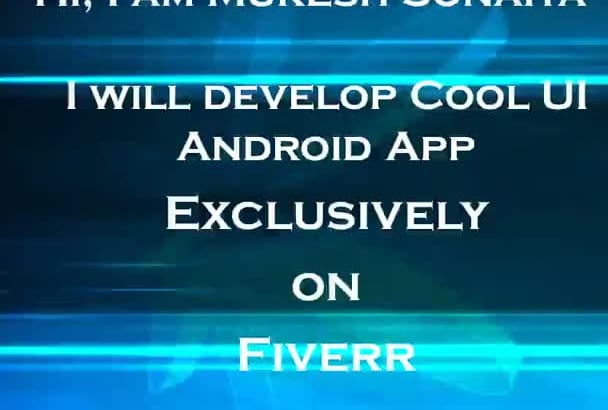 develop Awesome Android App