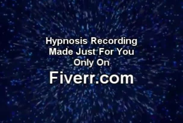 create a Hypnosis Recording  Just for You