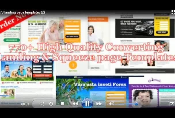 fresh 770 High Converting and Customizable Landing pages templates