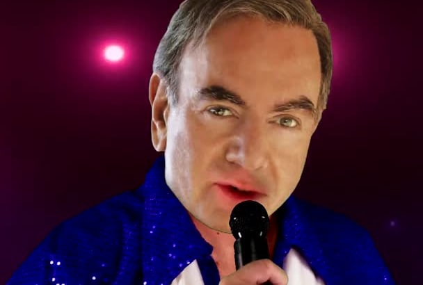 personalize Neil Diamond song for a Birthday ETC