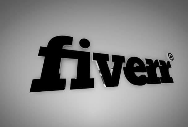 make you this AMAZING silver reveal youtube intro with your logo or text