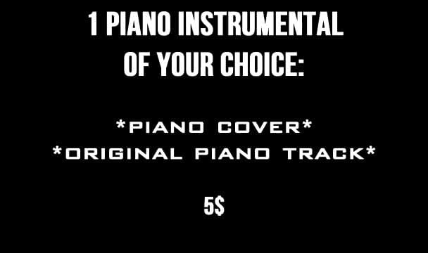 compose original piano music for your project
