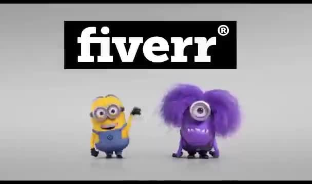 put Your Logo in this funny evil minion video