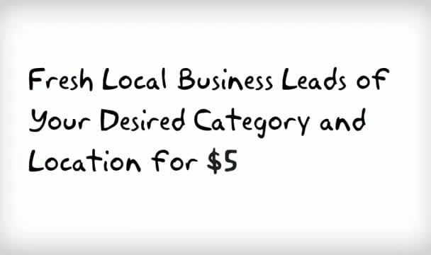 get you all available Local Business Leads of your desired Category and Location
