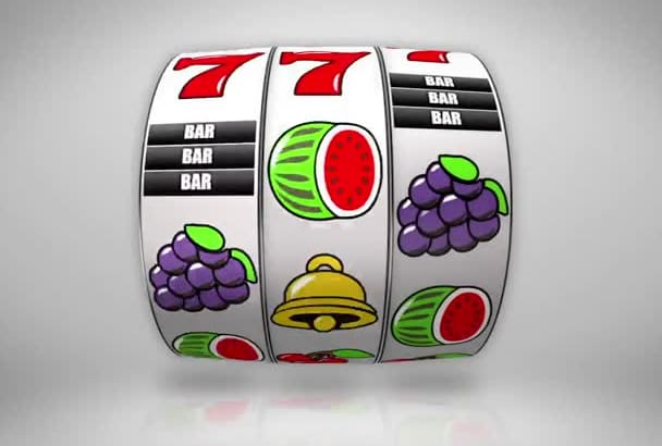 create this Slot Machine to reveal your Logo