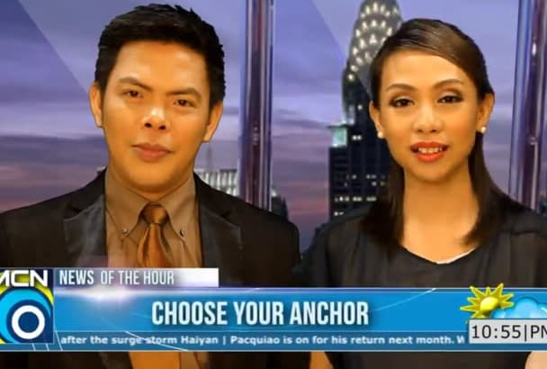 greet you in Asian News Reporting Style