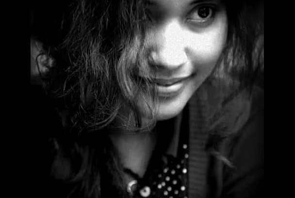 do voiceover, greet, sing in female INDIAN accent