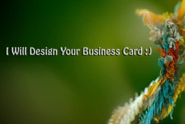 design Business cards, Order one and get one free