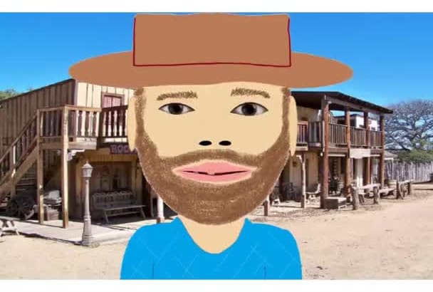 animate a cowboy and voice and more