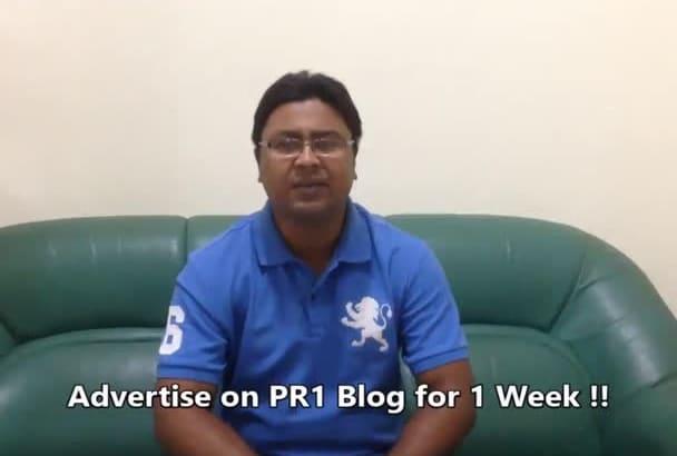 advertise for 1 week on petblog