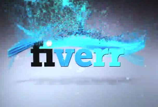 do a Colorful Logo Particle Reveal Video