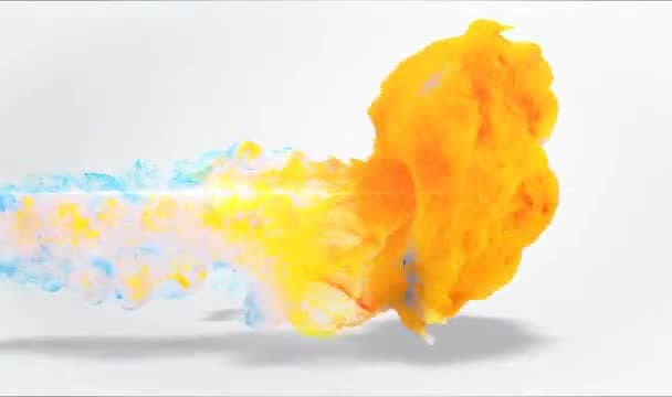 create a Full HD colorful fluid effects logo reveal