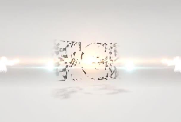 create you a bright opener video in full 720p HD