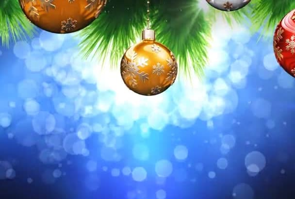 create this Christmas n New Year Celebration Video