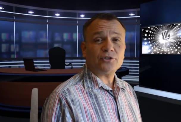 do HD video testimonial in Russian, English, Hebrew