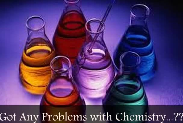 answer Your Any Problem Regarding Chemistry