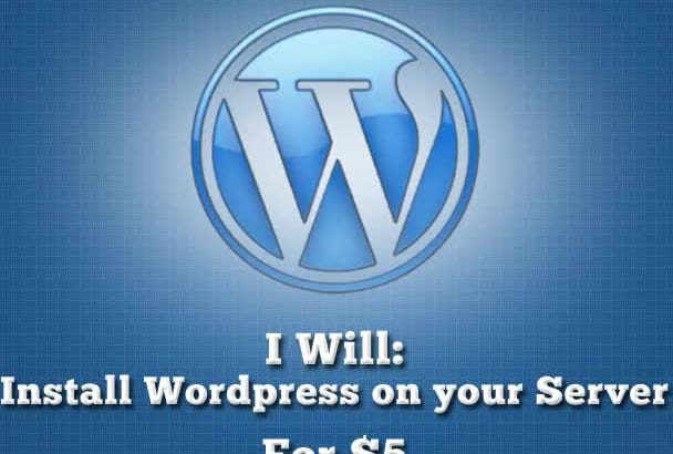 install wordpress on your website