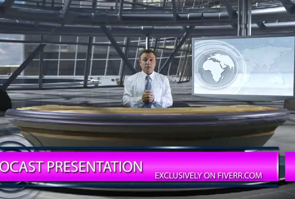 present your company, announce news in HD format
