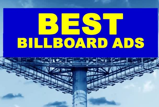 create the BEST billboard or banner ad copy