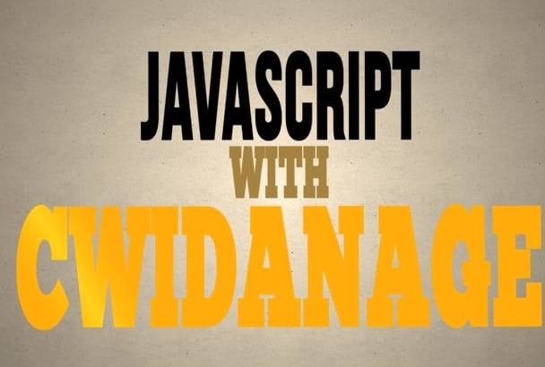do javascript, jquery custom scripts or issues and bug fixes