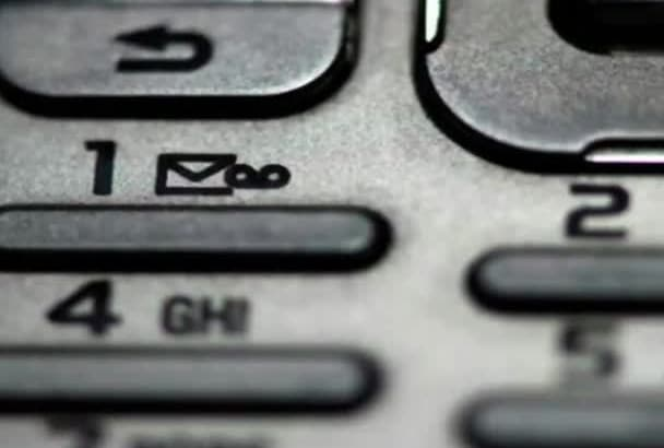 professionally record A Voicemail Greeting On Hold Message