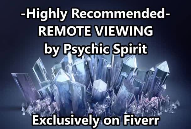 a PSYCHIC ReMOTE ViEWING w GiG XtRA OnLY GeT NoW OPTiON