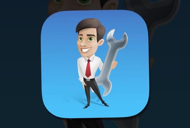 create iOS mobile App Icon