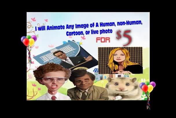 animate Any Image Of A Human, Animal, Cartoon, Or Live Photo