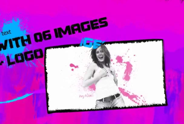 create this colorful promotional video