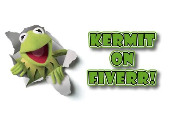 record a message from Kermit the Frog from the Muppets