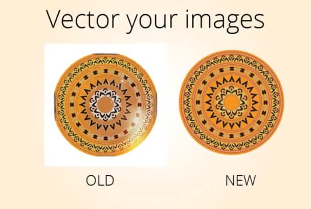 trace or vectorize images into vector