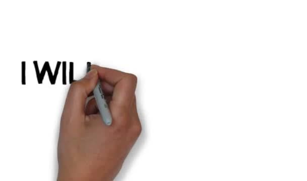 make a whiteboard animation of you and your wishes or greeting text