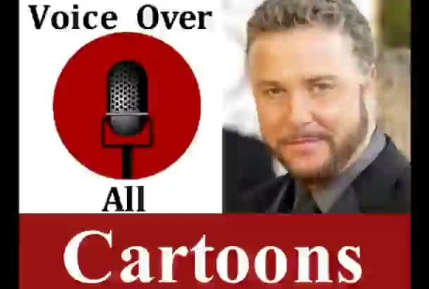 do professional Funny Cartoon Animation Voice Over