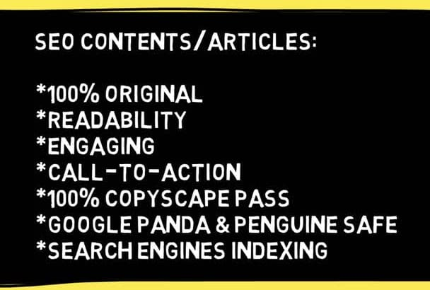 write 400 Word SEO Keyword Article
