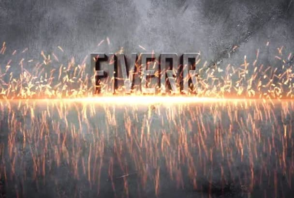 weld your metal plaques in a perfect Full HD intro